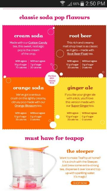 David's Tea teapop