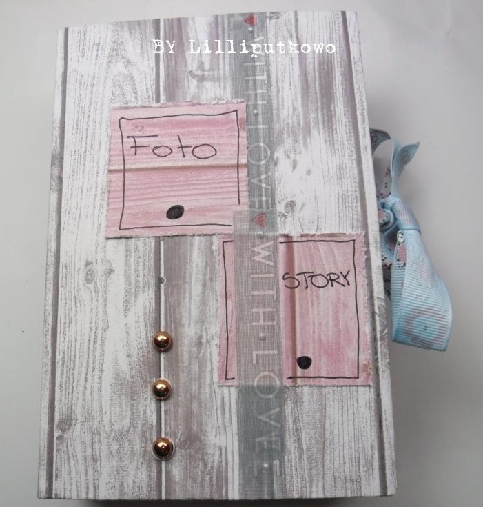Lilliputkowo: Garderoba Mikołaja i pudełko:)