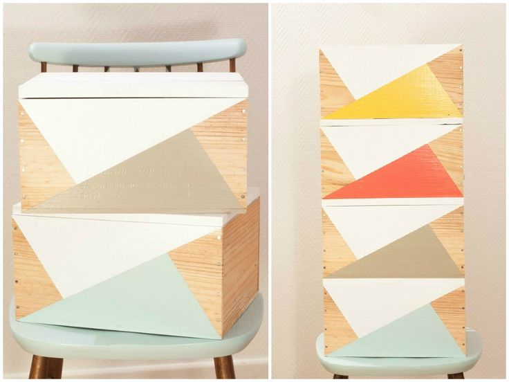 deco rangement caisses vin diy caisse en bois pinterest d co. Black Bedroom Furniture Sets. Home Design Ideas