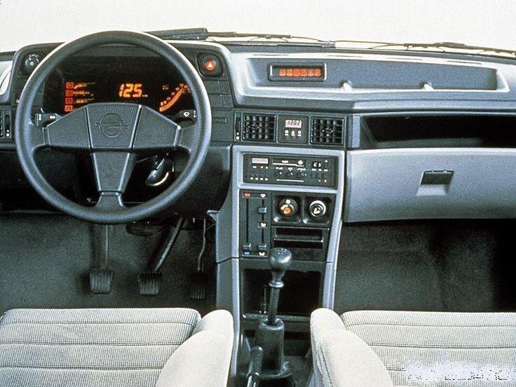 Opel Kadett GSI innen