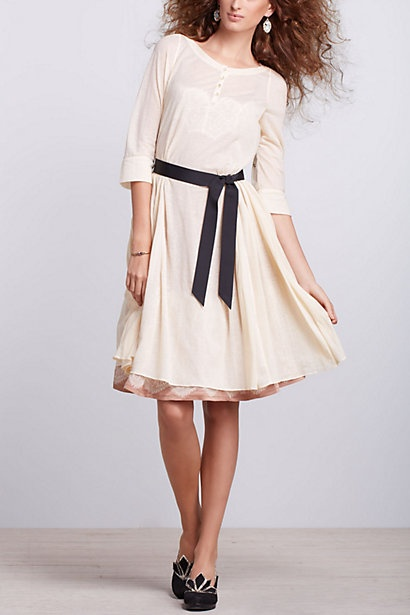 """The kind of dress I'd deem a """"library dress"""" back during my days as a student. <3"""