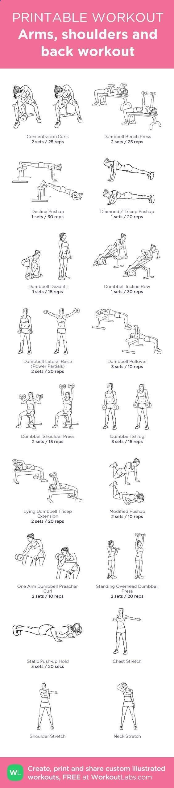 Belly Fat Workout - According to BodyBuilding.com, the back can be a problem area for a lot of women. Mostly because we get so focused on our front, we forget how important it is to have a defined back! Your back is also a key component to having good posture for modeling during swimwear and evening gown. Next time you're at the gym, try out these 14 easy moves to help tone and define your back and upper body. Do This One Unusual 10-Minute Trick Before Work To Melt Away 15+ Pounds of B...