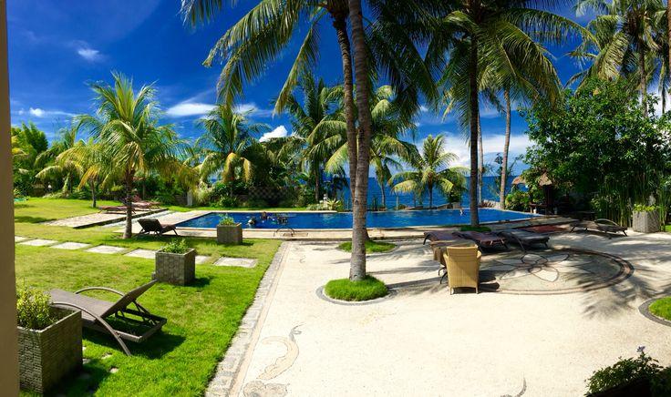 Ocean View Dive resort in Tulamben,Bali.Let's go diving!