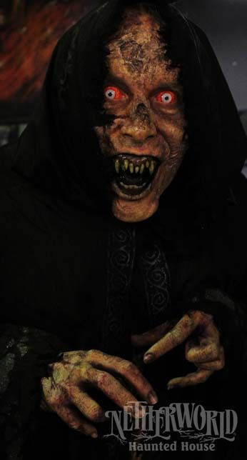 Prepare to be scared at the Netherworld Haunted House in Norcross, GA!
