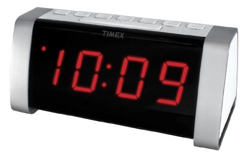 Timex T235WY AM/FM Dual Alarm Clock Radio with Jumbo Display and Line-In Jack (White) Timex http://www.amazon.com/dp/B00JHKCIFY/ref=cm_sw_r_pi_dp_K.Caxb07HM9Z9
