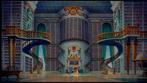 A fantastic library for Belle in Beauty and the Beast (1991): Future Houses, Great Movie, Dreams Libraries, Dreams Home, Home Libraries, Beast Libraries, Book, Beauty And The Beast, Disney Movie