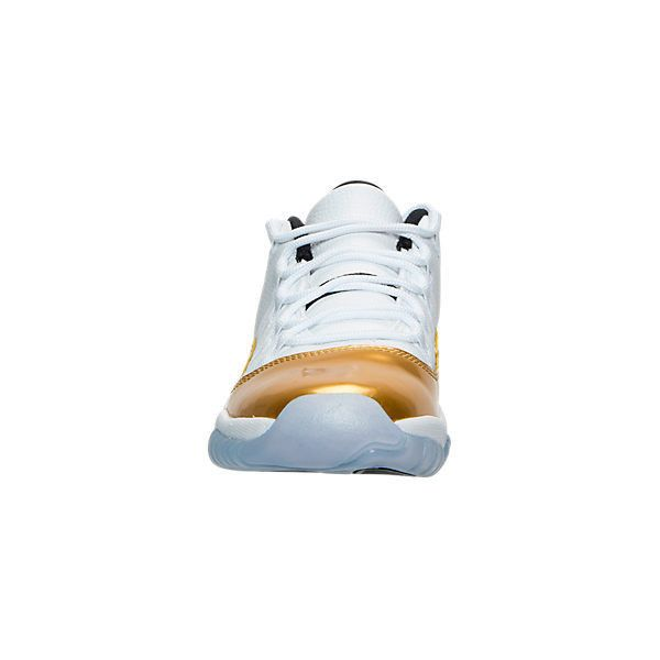 Boys' Grade School Air Jordan Retro 11 Low Basketball Shoes| Finish... ($130) ❤ liked on Polyvore featuring shoes