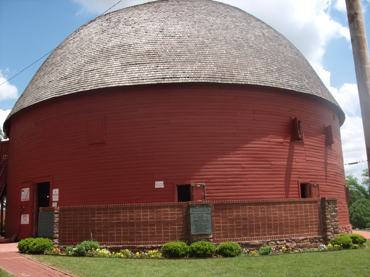 Round Barn, Arcadia, OklahomaArcadia Oklahoma, Round Barns, Beautiful Barns, Country Living, Route 66, Oklahoma St, Barns And, Barns Farms