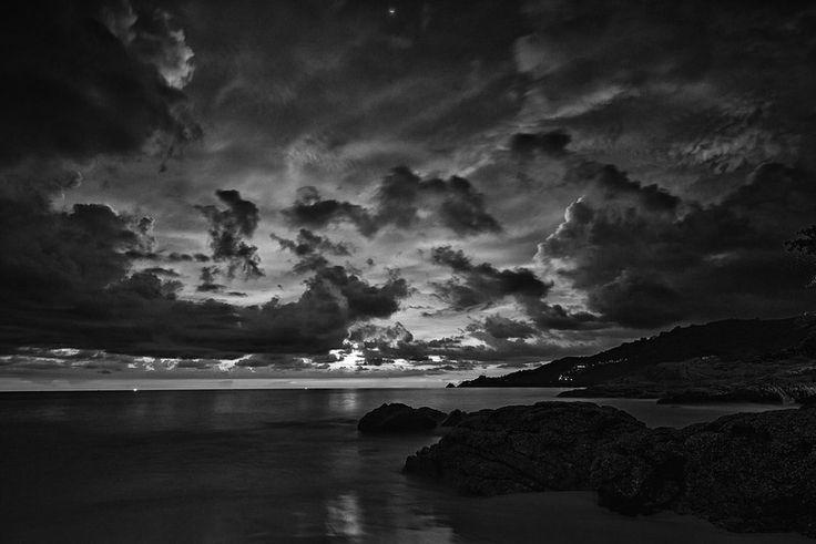 Drama Over Patong Beach Phuket Thailand