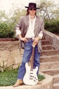 Stevie Ray Vaughan. A beautiful soul and phenomenal musical artist:)