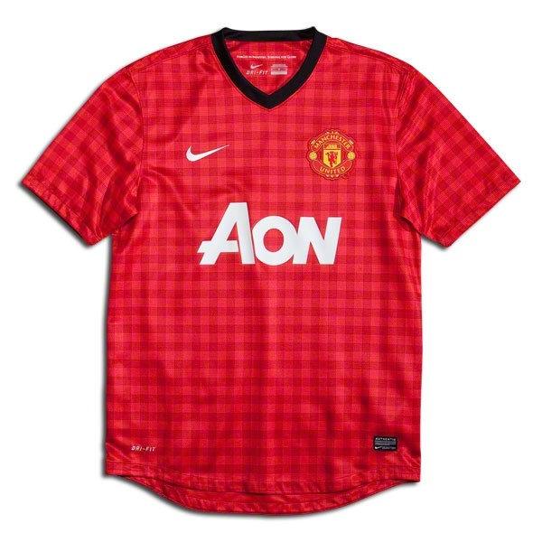Nike Manchester United Home Jersey 12/13