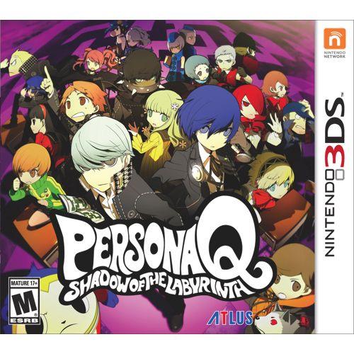 Persona Q Shadow Of The Labyrinth (Nintendo 3DS) - English