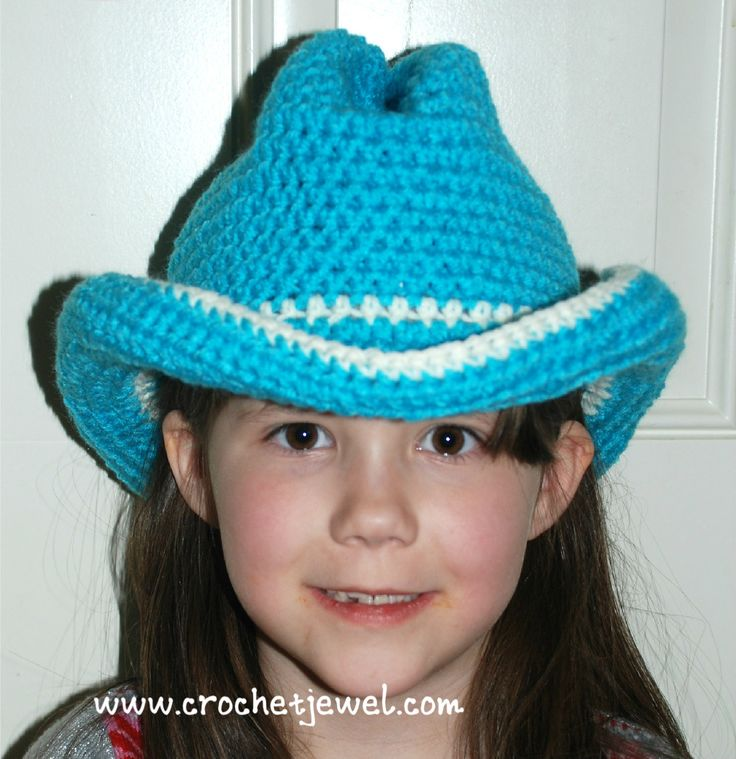 Crochet Cowboy or Cowgirl Hat (All sizes Available)                          If you tell others about my work, please only link back to my...