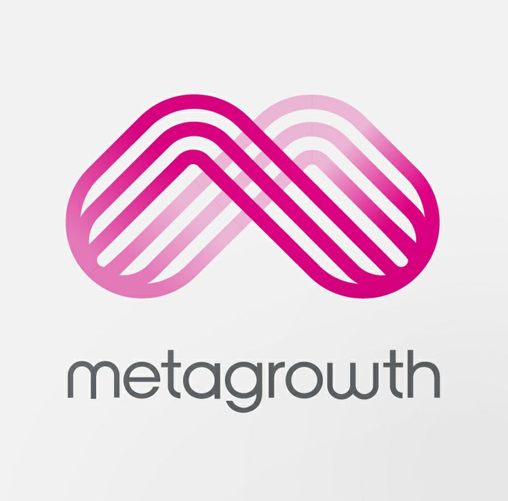 Concept Logo design for Metagrowth. Designed by Uffindell.