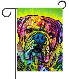 Hey Bulldog Garden Flag $14.99