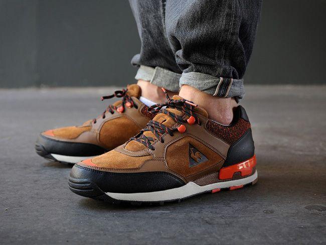 Le Coq Sportif Ozan Hiking Brown / Orange | Footwear