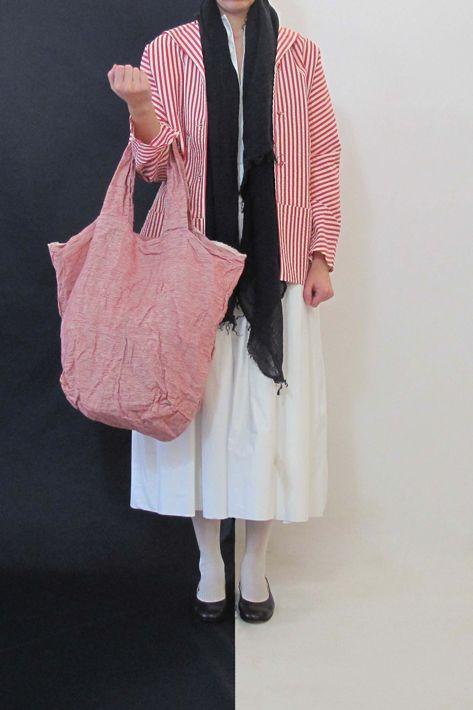 Daniela Gregis washed short square-based spi bag