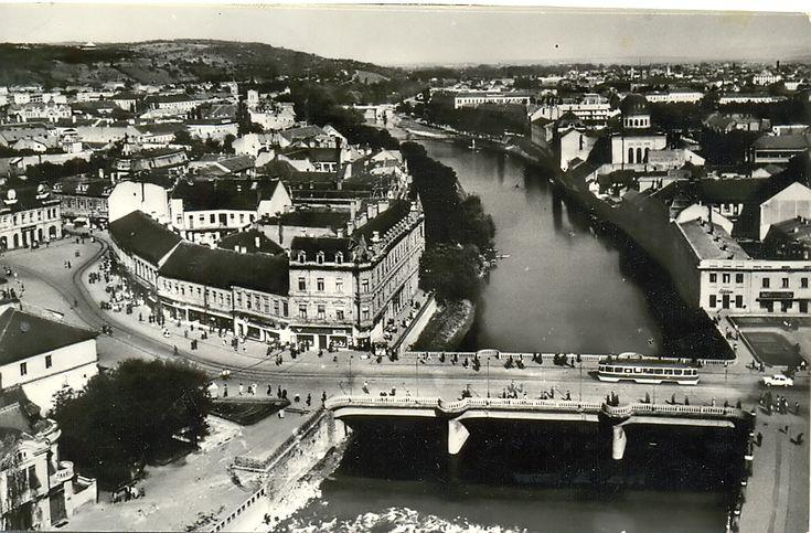 Podul din centru 1971   Oradea in imagini
