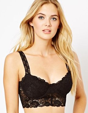 ASOS Boudoir Lace Underwired Bralet