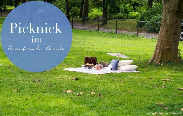 Reisen - Picknick im Central Park in New York | The Nina Edition