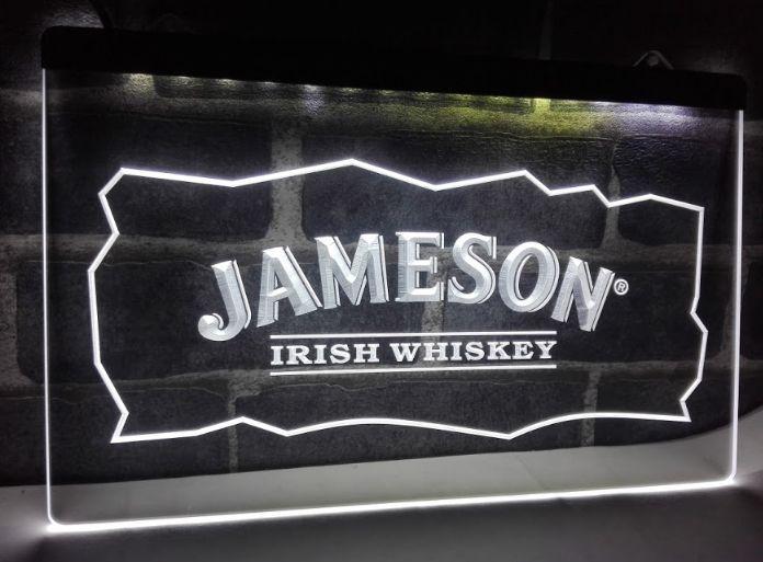 Jameson Whiskey Bar Club Pub Neon Light LED Sign | Neon
