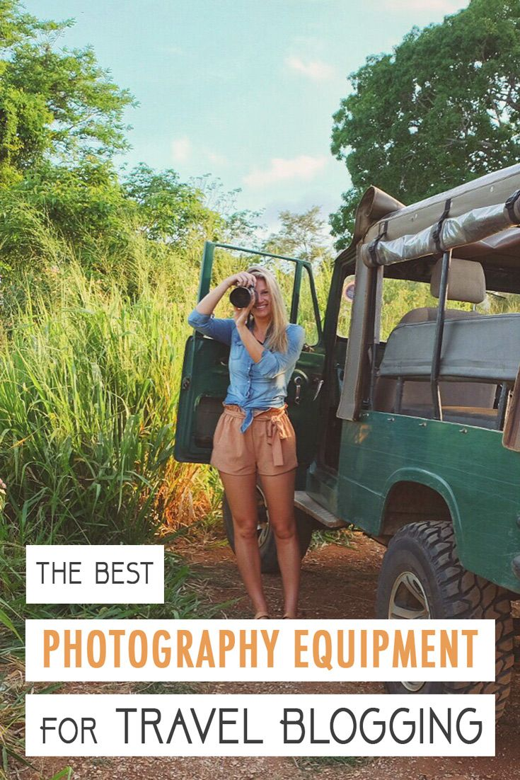 Best Photography Equipment for Travel Blogging