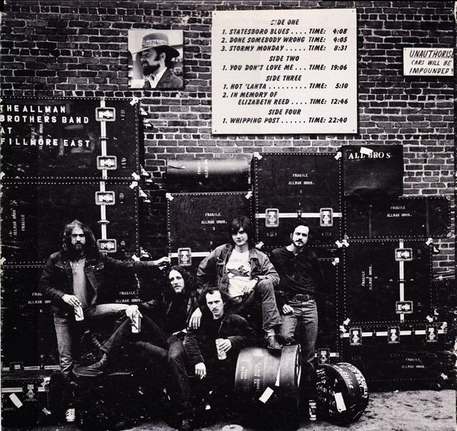 The Allman Brothers at Fillmore East - Album cover location - PopSpots