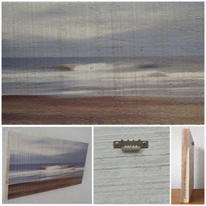 ETERNAL SONG - Foto op hout, Photo on wood, print, afdruk, acaciahout, FSC keurmerk