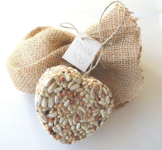 Edible Wedding Favors in Burlap Bags