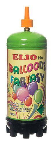 Ballongas Einwegflasche Helium Gas mittel (0,180 m³) für 20 Luftballons mit 25cm Durchmesser oder 12 Folienballons mit 45cm Ø #Ballongas #Einwegflasche #Helium #mittel #m³) #für #Luftballons #Durchmesser #oder #Folienballons