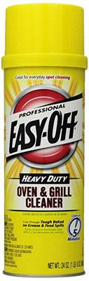 Easy Off Professional Oven and Grill Cleaner Aerosol, 24 ounces