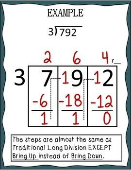 best 25 teaching long division ideas on pinterest division strategies division chart and. Black Bedroom Furniture Sets. Home Design Ideas