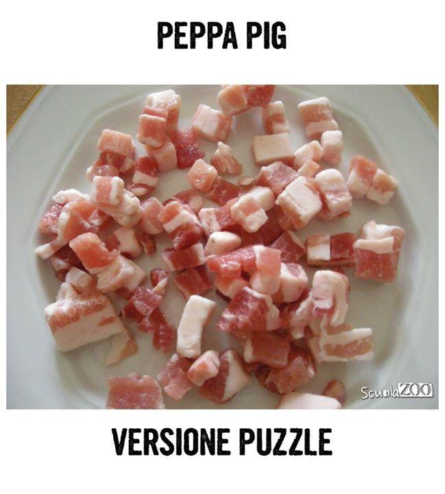 haha peppa pig puzzle