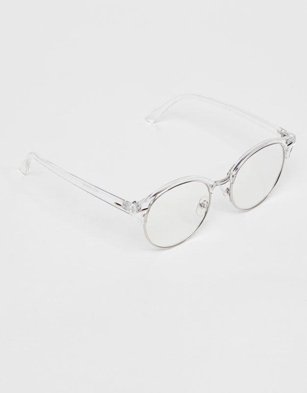 Gafas ver transparentes - Últimas novedades - Accesorios - Mujer -  PULL BEAR Islas Canarias 3cdd501d69ab