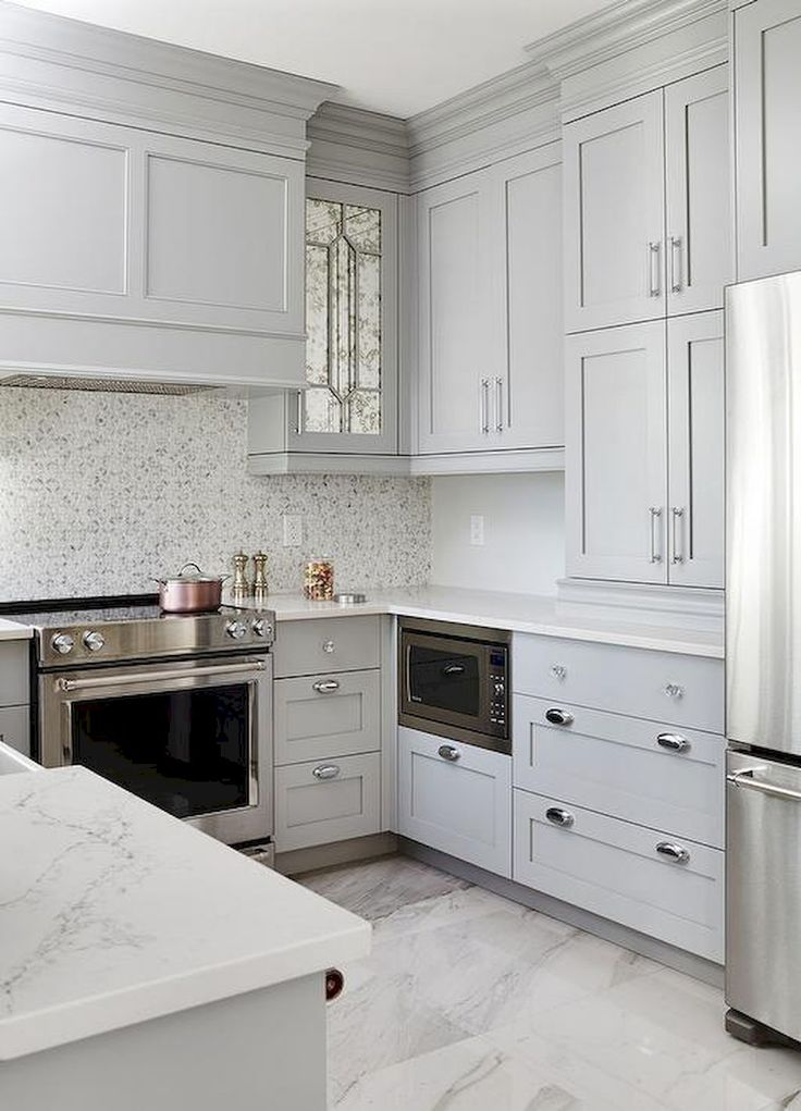 Best Cool 40 Brilliant Kitchen Ideas On A Budget For Small 400 x 300