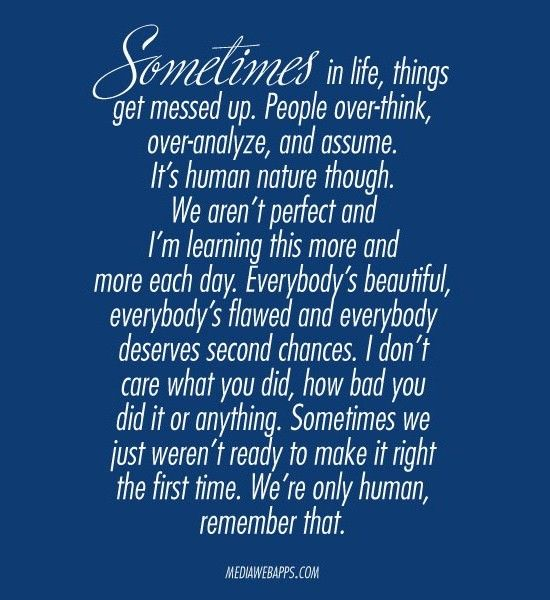 I Think I Messed Up Quotes: Best 25+ Second Chances Ideas On Pinterest