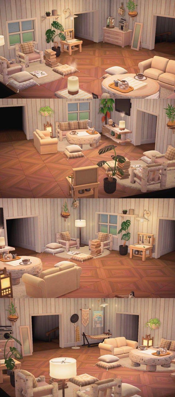 Redid My Living Room Horizondesigns Animal Crossing Interior Design Animals Animal Crossing 3ds