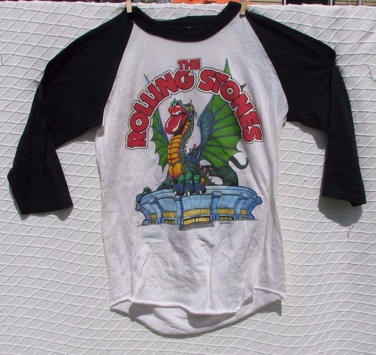 Rolling Stones Vintage 1981 Heart Thorogood Boulder Co