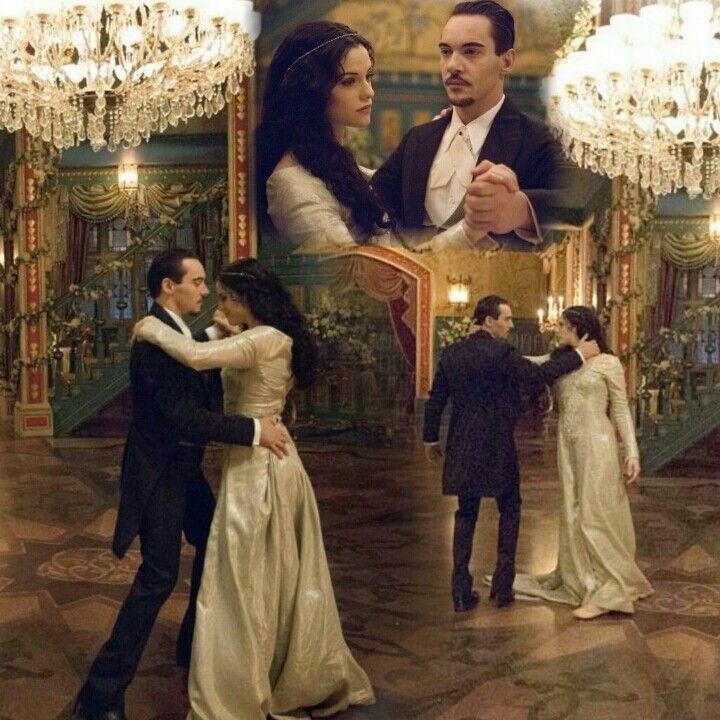 Dracula and Mina/Ilona