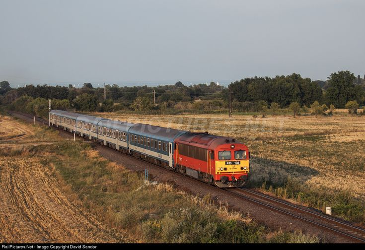 RailPictures.Net Photo: 418 178 Hungarian State Railways (MÁV) M41 (418) at Aszófő, Hungary by David Sandor