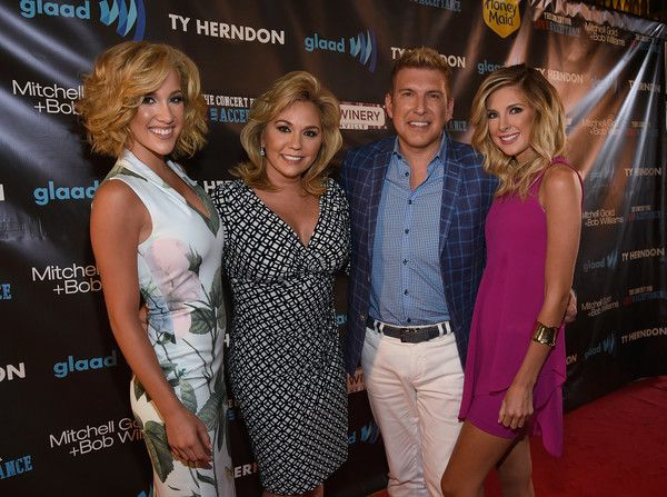 Todd Chrisley & family attend The Concert For Love and Acceptance