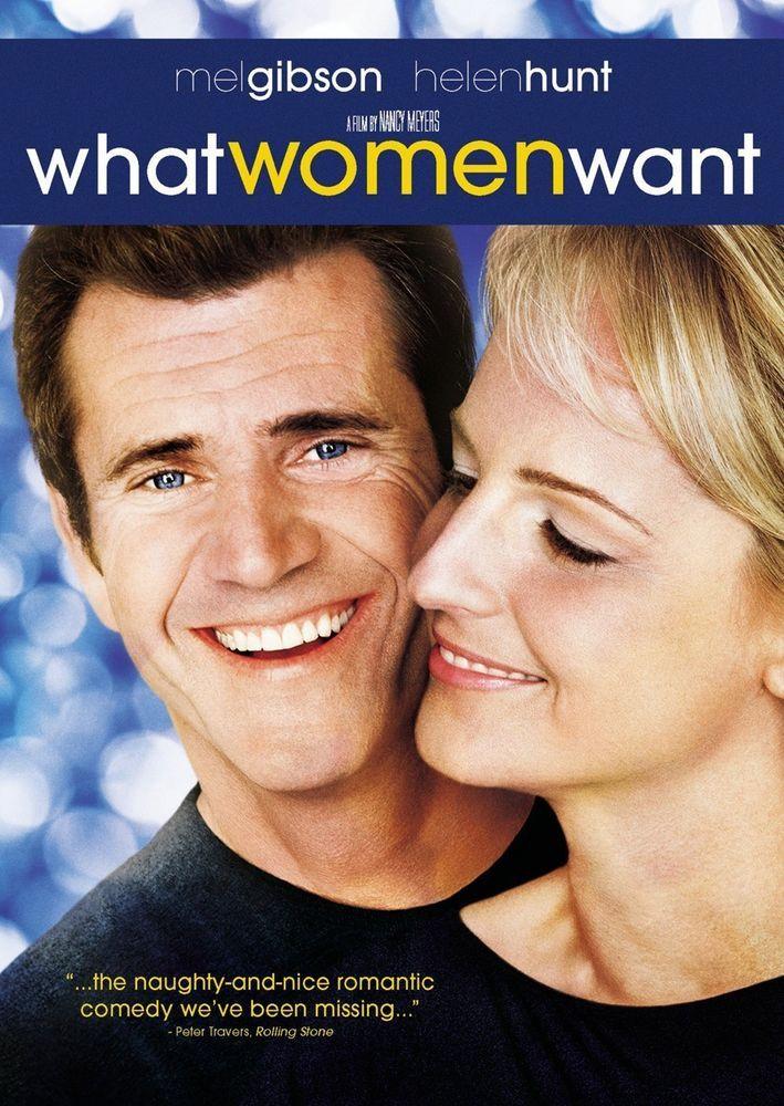What Women Want (DVD, 2001) PG-13 Mel Gibson, Helen Hunt