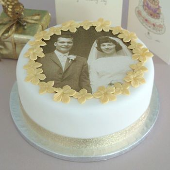 Personalised Wedding Anniversary Cake Decorating Kit