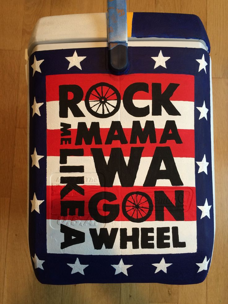 American Country Fraternity Cooler