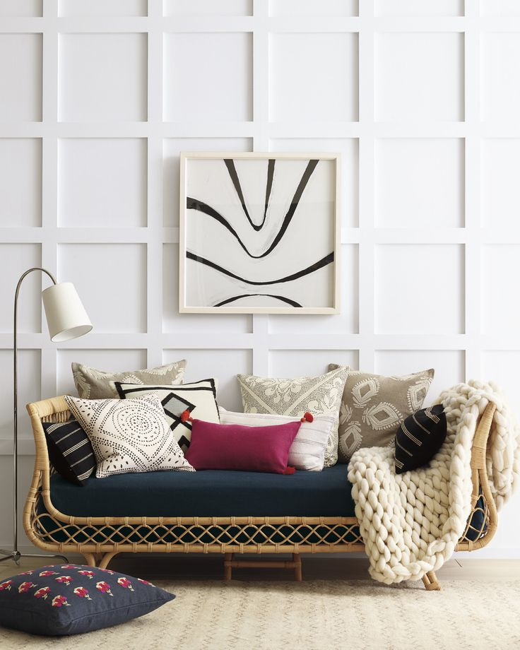 I'm 110% on board with the recent resurgence of rattan beds. Just like natural wicker lighting, rattan beds can infuse the right amount of airiness and tropical charm to a bedroom. Treasure seekers like Elsie Green have been hunting down mid century originals from Southern France. Other