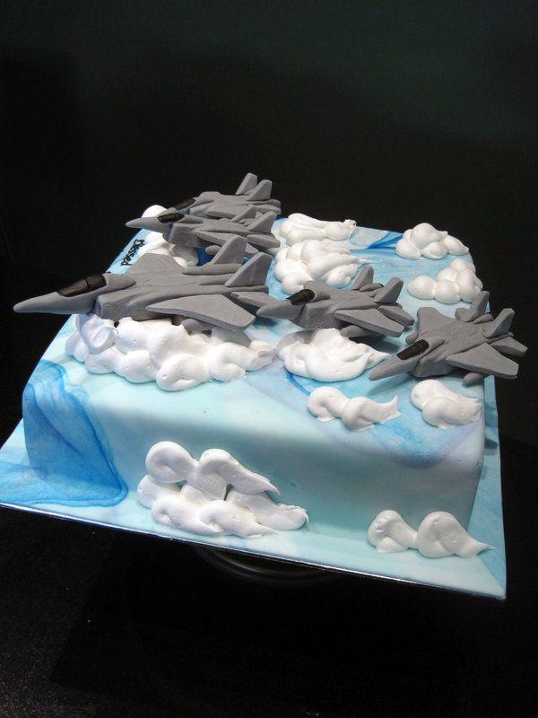 "F15 Squadron Cake by ""Sliceofcake"" on deviantArt"