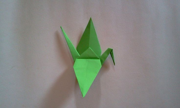 Origami bird , you can wacth in youtube, link http://youtu.be/IQX9fgR8l9I