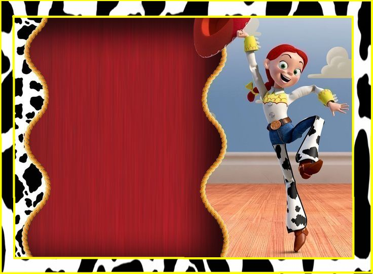 Jessie, Toy Story: Free Printable Kit. at http://eng.ohmyfiesta.com/2014/09/jessie-toy-story-free-printable-kit.html