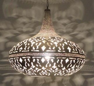 Moroccan Hanging Lamp | Moroccan Pendant Light | Lantern Pendant Lighting - E Kenoz