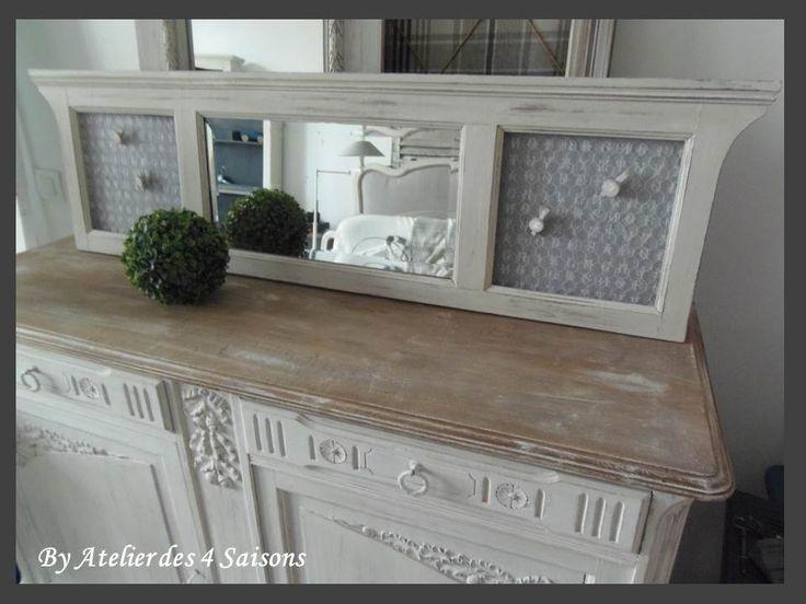 17 meilleures id es propos de miroir l 39 ancienne sur pinterest miroi - Miroir maison de famille ...